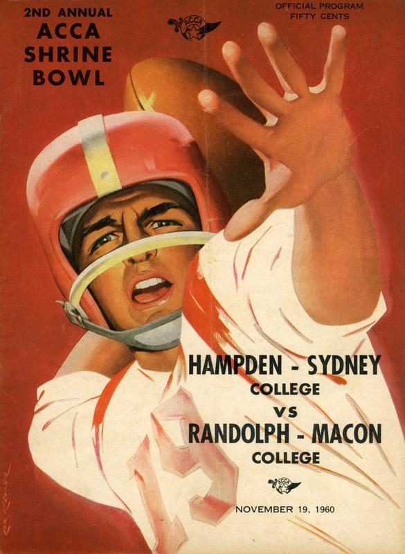 1960 R-MC vs. H-SC football program cover