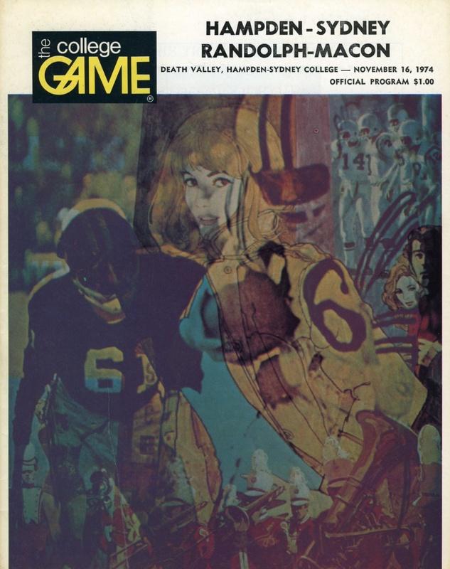 1974 R-MC vs. H-SC football program cover