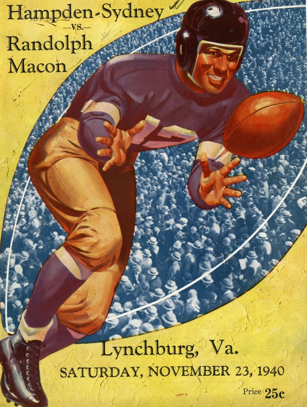 1940 R-MC vs. H-SC football program cover