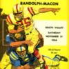 1964 R-MC vs. H-SC football program cover